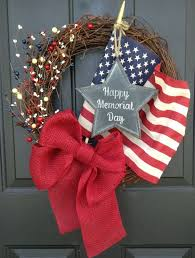 patriotic wreaths for front doorBest 25 Memorial day wreaths ideas on Pinterest  4th of july