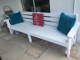 garden furniture garden bench patio bench outdoor furniture white straight