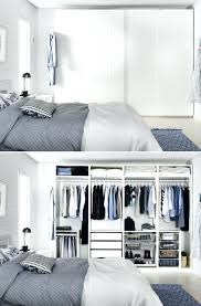 walk in closet behind bed ikea wardrobes even behind closed doors you can avoid closet clutter walk in closet behind bed
