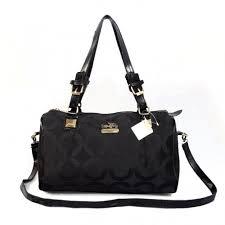 Coach In Monogram Medium Black Luggage Bags CBS