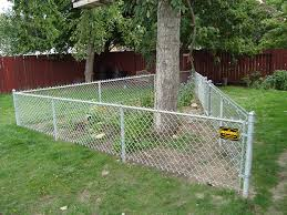 chain link fence post installation. Chainlink1 Residential Chain Link Fencing Fence Post Installation C
