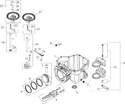 Kohler sv610 engine parts diagram