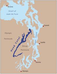 Washington State Mileage Chart Hood Canal Wikipedia