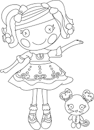 Small Picture Printable Lalaloopsy Coloring Pages Coloring Me