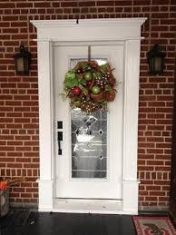 front door trimEna  Neils Craftsman Front Door Surround  The Joy of Moldingscom