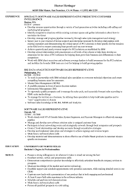 Sales Representative Resume Example Software Sales Representative Resume Samples Velvet Jobs 13