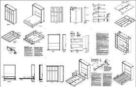 diy murphy bed ideas. Plans Are For A Classic 4-panel Door Queen Wall Bed Design. The Is  Practically Easy To Build, Economic, Great Looking And Sturdy. Diy Murphy Ideas