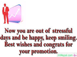 Words For Congratulations Congratulations On Promotion Wishes Messages For Boss To