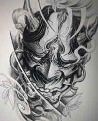 пин от пользователя Dariys Pits на доске японский демон тату эскиз
