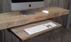 image modern home office desks. 2 \u2013 Elegant Idea For Your Home And Office Recycled Wooden Desk. Image Modern Desks