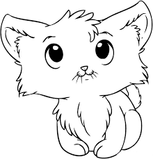 Small Picture Cat Face Coloring Page Easy Cat Face Coloring Pages nebulosabarcom