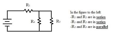 many paths lesson www teachengineering org Electrical Series Wiring Diagram a circuit diagram with a battery and three resistors the first and second resistors are electrical wiring in series diagram