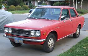 owned since 1972 all stock 1971 datsun 510 2 door