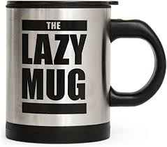 Buy self stirring coffee mug cup no need charge no battery hot energy stirring innovative cup automatic mixing cup for coffee milk 300ml black online on amazon.ae at best prices. Amazon Com The Lazy Mug Self Stirring Coffee Cups Mugs