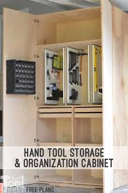build a garage cabinet with tons of storage space for your tools supplies and