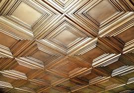 luxury faux tin ceiling tiles glue up