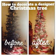How To Decorate A Designer Christmas Tree Enchanting Decorating My Designer Christmas Tree StepbyStep Vintage