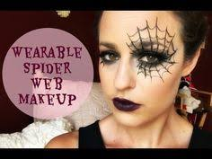 wearable makeup tutorial spider web you