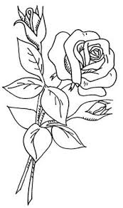 coloring page rose and rosebuds images attach c 10 110 37 wb flowers 2 37 by love to sew via flickr wd be nice redwork enlarged on a white quilt
