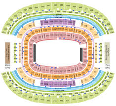 Dallas Cowboys Stadium Concert Seating Chart At T Stadium Tickets With No Fees At Ticket Club