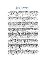 heroism essay hero definition essay example
