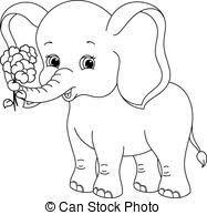 Elephant Coloring Pages Fresh Color Page Best Book Baby Elephants