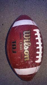 leather wilson tdj 1360 junior size football