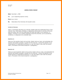 5 Business Memo Templates Students Resume