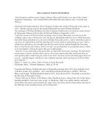 priscilla carpenter plymouth | ALICE CARPENTER SOUTHWORTH BRADF |  Southworth, William bradford, Lettering