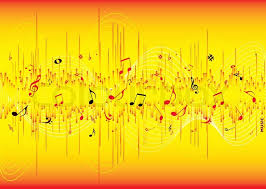 cool yellow abstract backgrounds.  Backgrounds Red And Yellow Musical Inspired Abstract Background With Room For Your Own  Text  Stock Vector Colourbox Throughout Cool Yellow Abstract Backgrounds