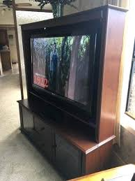 50 Flat Screen Tv With Solid Wood Entertainment Center Inch On Sale