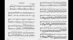 clair de lune sheet music guitar clair de lune debussy flute guitar youtube