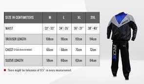 Size Chart Rdxsports
