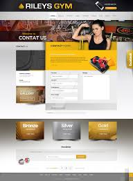 gym website design rileys gym website design by webdesigner1921 on deviantart