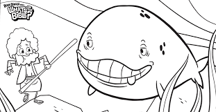 Jonah Bible Coloring Pages