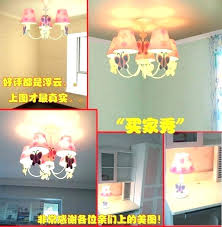 childrens pink chandelier baby girl pink chandelier