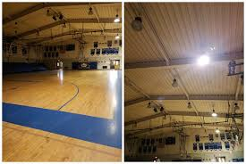 high school gym. The Gym At Taft High School Has Been Off Limits To Athletes Since A Ball Hit