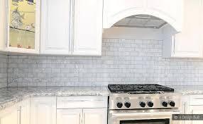 Tile Backsplash Ideas For White Cabinets Stunning Black Tile Backsplash White Cabinets Webstechadswebsite