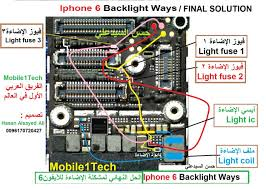Iphone 6 Back Light Solution Jumpers Iphone 6 Backlight