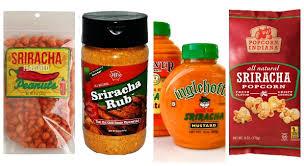 sriracha snacks