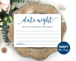 date night invitation template date night card template printable wedding date night card