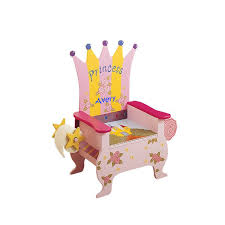 princess wooden potty chair
