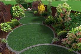 Small Picture Circular garden design with five diminishing overlapping off