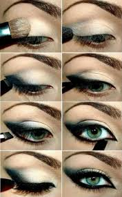 you need to be extra careful not to overpower your color use um colors to line your eyes with and use in the crease p on the darker shadows