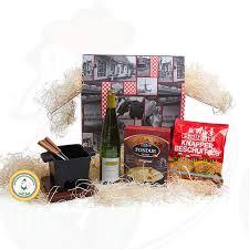 varied tapas fondue gift package dutch