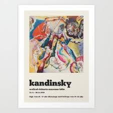 <b>Kandinsky</b> Art Prints | Society6