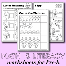 It is perfect for early readers/writers and is simple enough for students to work on independently in literacy centers. Freee Pre K Worksheets Alphabet Phonics Math Pdf Liveonairbk