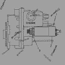 7c4028 solenoid group shutoff excavator caterpillar 205b 205b aggregate