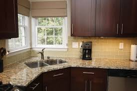 Cream Floor Tiles For Kitchen Glass Tiles For Kitchen I Absolutely Want This Tile Brown Cream