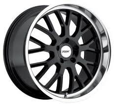17x8 Tsw Tremblant 5x120 Rims 35 Black Wheels Set Of 4